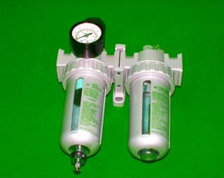 Air Filter Regulator Lubricator Control Unit Water Separator for Air