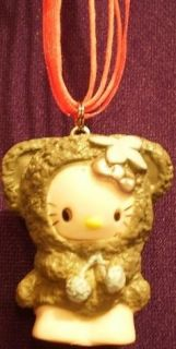Hello Kitty Bear Anime Cat Scene Cute Sanrio Necklace