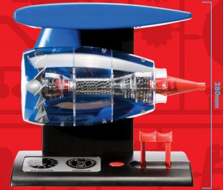 Airfix Kit A20005 Airfix Engineer Jet Engine Working Model Light Sound
