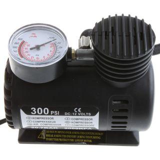 Portable 12V Car Auto Electric Air Compressor Tire Infaltor Pump 300