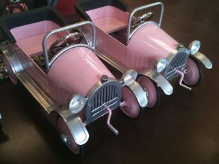 Airflow Collectibles Princess Pedal Car in Pink AF102