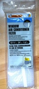 Frost King Universal Window Air Conditioner Filter Washable adn re