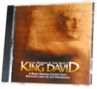 click to view image album king david alan menken tim rice rare concert