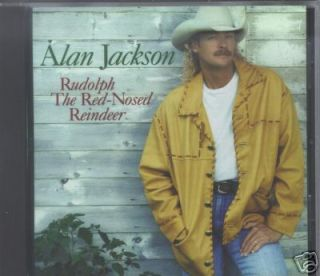 Alan Jackson Rudolph Red Nosed Reindeer CD Single