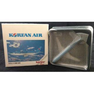 Wings Airliner Model Korean Air Airlines Airbus A300 600 Plane