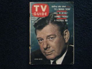 TV Guide Alfred Hitchcock William Bendix Anna Maria Alberghetti