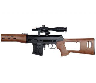 DRAGUNOV SVD ROMANIAN PSL WOOD AIRSOFT SNIPER RIFLE SPRING GUN w BB
