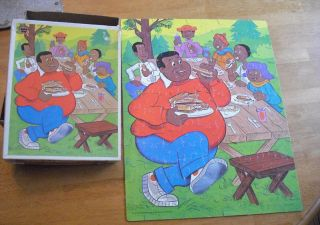 Fat Albert Cosby Kids Puzzles 70s Whitman 100pc Nice
