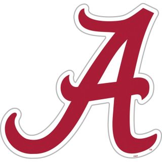University of Alabama Crimson Tide Large Logo Cornhole Decals Set of 2