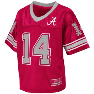 Alabama Crimson Tide Toddler Stadium Football Jersey Crimson COJF8500