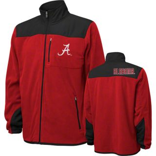 Alabama Crimson Tide Youth Cardinal Micro Polar Fleece Full Zip Jacket
