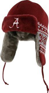Alabama Crimson Tide Crimson New Era Team Trapper Trooper Hat