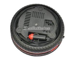 260PSI DC12V Car Auto Portable Pump Tire Inflator Mini Air Compressor