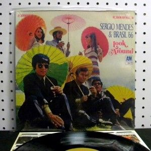 Sergio Mendes & Brasil 66   Look Around (1967) Vinyl LP ~ Near Mint
