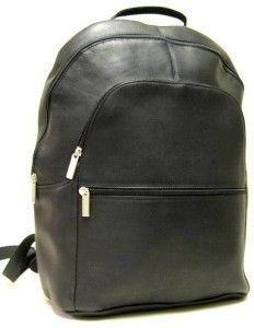 le donne leather laptop backpack