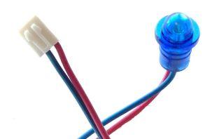 Blue Alarm LED Light Bright Viper Python Clifford New