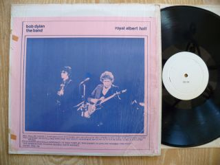 BOB DYLAN & THE BAND  ROYAL ALBERT HALL RARE LIVE TAKRL TMOQ HARD ROCK