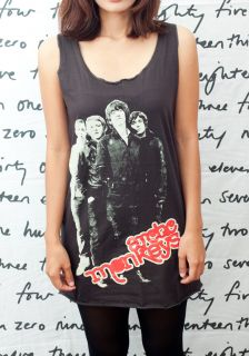 Arctic Monkeys Alex Turner Indie Pop Art Women T Shirt Dress Tank Top