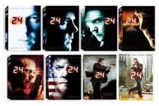 New 24 DVD Complete Series 1 8 Season 1 2 3 4 5 6 7 & 8 Seasons
