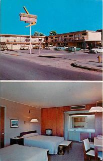NM Albuquerque New Mexico Town House Hotel Multi View Route 66 DP No