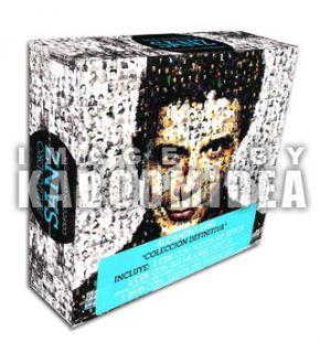 CD + 1 DVD ALEJANDRO SANZ Coleccion Definitiva NEW Especial Mexican