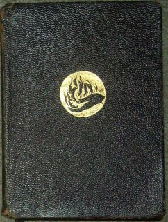 1941 The Prophet by Kahlil Gibran Leather Bound Alfred Knopf