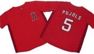 Los Angeles Anaheim Angels Albert Pujols Kids Jersey SGA