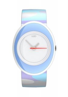Alessi Childrens Wrist Watch in Purple Blue and White RRP £62 Gift