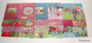 SALE ~ (1) Pk 12 STRAWBERRY SHORTCAKE PHOTO/PICTURE ALBUMS New