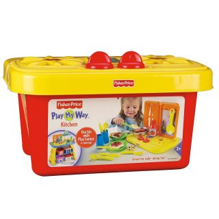 Fisher Price Play My Way Kitchen Girls Birthday Toy Gift Ages 2