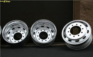 Alcoa Accuride Freightliner 22 5x8 25 Aluminum Truck Wheels Set of 6