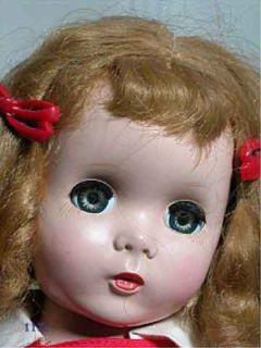 Vintage Madame Alexander Hard Plastic Doll Maggie Face Walker 18 1956