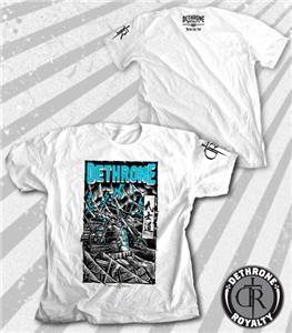 Dethrone Royalty Jose Aldo Storm White MMA T Shirt x Large Brand New