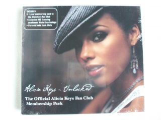 Alicia Keys Unlocked DVD The Official Alicia Keys Fan Club Membership