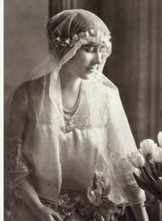 Lady Elizabeth Bowes Prince Albert   King George VI Royal Wedding 1923