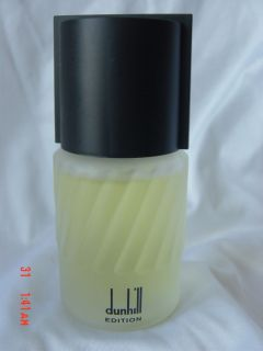 Alfred Dunhill  Dunhill Editon  Eau de Toilette Natural Spray 1 7 FL