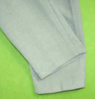 Alfred Dunner sz 8P Petite Light Green Womens Dress Pants Slacks 5L64