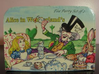 Alice in Wonderland Tea Set By Paul Cardew Mint Collectors Item