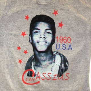 Cassius Clay Muhammad Ali Boxing Champ Tribute Legend Custom T Shirt