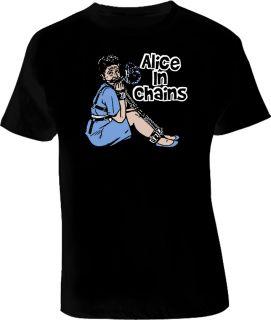 Brady Bunch PARODY Alice in  Fun Punk T Shirt