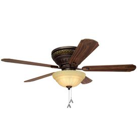 allen + roth 52 Duncan Roman Bronze Ceiling Fan Model # 5DN52RBD