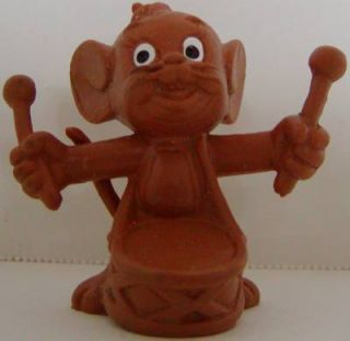 Jerry All Brown Figurine Drum Tom and Jerry Cartoon