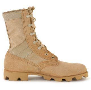 ALTAMA Military Desert Jungle Boots Milspec Leather Canvas Sizes 7 13