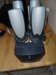 Altec Lansing ADA745 Computer Speakers Works and s Good