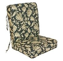 Replacement Deep Seating Outdoor Cushion Seat and Back Fallenton Coal