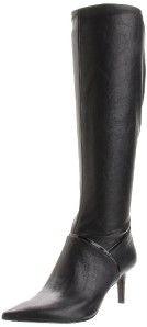 Nine West Aliceeve Knee High Boot Womens Black Sz 8 5M MSRP $129 00
