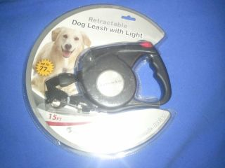 Furry Friends Co 15 Retractable Pet Leash with Light for Large Dogs