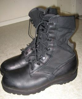 ALTAMA Black Jungle US Military 3LC Nylon Canvas Hiking Combat Boots