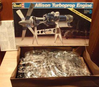 Revell, Allison, TurboProp, Engine, 1/10, #, 8880