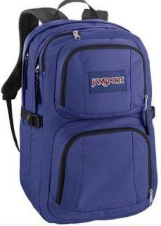 Auth Jansport The Merrit Purple Sky School Backpack Laptop Backpack